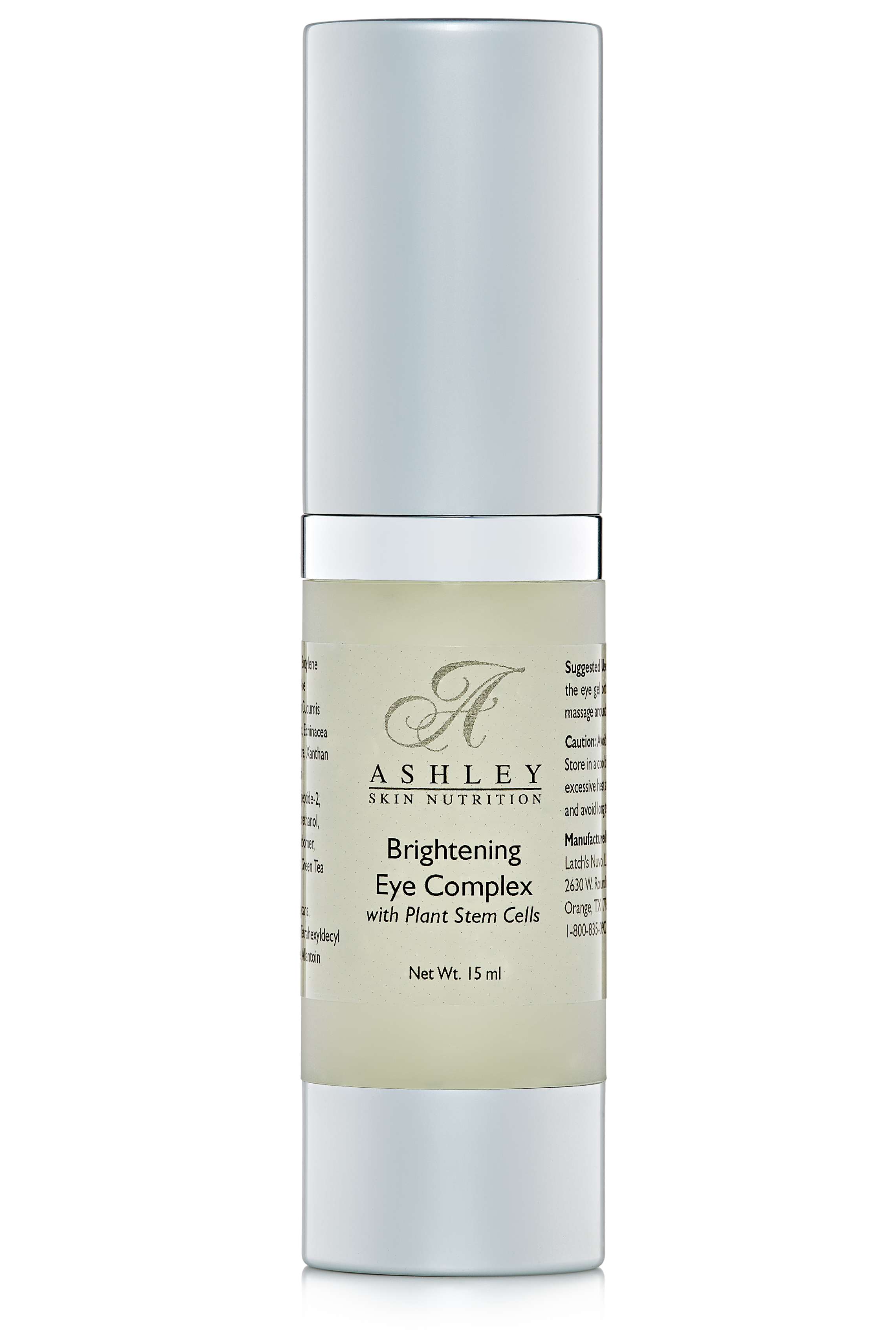 NEW Ashley Skin Nutrition Brightening Eye Complex with Plant Stem Cells